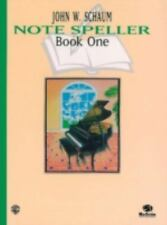 Schaum Note Spellers Book 1 Schaum Method Supplement