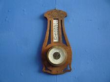 Antiker Wetterstation Barometer Thermometer 20er 30er Jahre