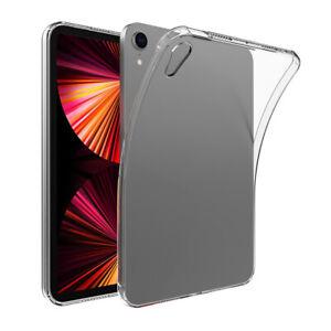 AU For Apple iPad Mini 6 2021 Slim Shockproof Soft Clear TPU Silicone Case Cover