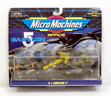 BABYLON 5 Micro Machines Collection #1 Space Station Vorlon Centauri Transport