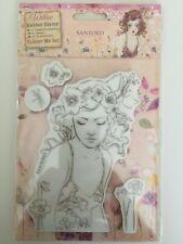docrafts Santoro London - Willow Rubber Stamp Set - Innocence NEW