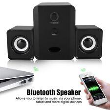 Bluetooth Speaker USB Powered 2.1 Stereo Bass Speaker for Laptop/Table/Phone/MP3