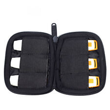 Flash Drive Case 6 USB Thumb Carrying Storage Holder Wallet Bag Travel Organizer