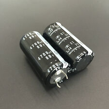 3pcs 4700uF 80V Japan Nichicon LS 25x50mm 80V4700uF Snap-in Capacitor