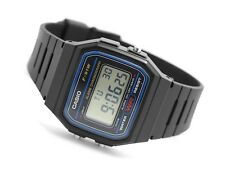 CASIO F91W-1 Classic Black Resin Digital Chronograph Sport Unisex Watch NEW