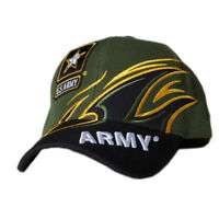 US Honor Official Embroidered Shark Fin Army Logo Baseball Caps Hats