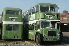 Lincolnshire Roadcar 2385 & 2537 Feb 1982 Bus Photo