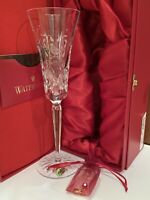 Waterford Crystal Lismore 12 Days Of Christmas Partridge Champagne Flute 1st