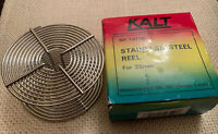 Kalt NP-10110 Single Stainless Steel Reel for 35mm Film Photography Developing