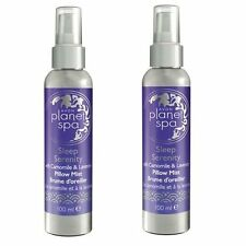 2 x100ml AVON PLANET SPA SLEEP SERENITY PILLOW MIST SLEEP BETTER - SLEEP THERAPY