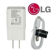 New OEM LG 1.8A Wall Charger Travel Adapter USB Cable for LG G2 G3 G4 Nexus 4 5