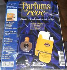 JOHNNY HALLYDAY RARISSIME PARFUMS DE REVE ATLAS FASICULE + PARFUM ET SA BOITE