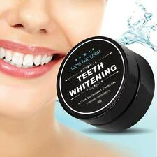 Activated Charcoal Teeth Whitening 100% Organic Coconut Shell Powder 30g NEW