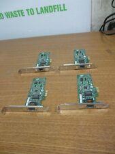 Lot of 4 Intel Gigabit 1-Port PCIe Ethernet Network Interface Card EXPI9301CT HP
