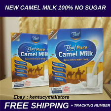 Original Camel Milk Powder halal NO SUGAR high calcium 25 gram x 20's 3 boxes