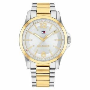 NIB Tommy Hilfiger 1791570 Men's Stainless Steel Bracelet Watch 42mm