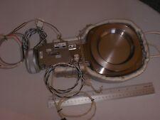 SMC ZX-159-2 HEATED HIGH VACUUM VALVE +VERY CLEAN+