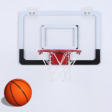 In/Outdoor Mini Basketball Hoop System w/Ball Home Wall Door Basketball Net Goal