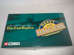 Corgi, 1:50 Scale, International Transtar w/lowboy, Sulley Trucking, US51403