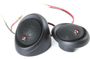 """MOREL MT230 CAR AUDIO SILK 1.1"""" SOFT DOME 130W RMS TWEETERS NEW"""