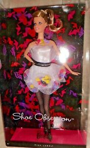 """Barbie""""Shoe Obsession"""" Collectors doll with muse body and head. BNIB & NRFB"""