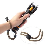 20000LM XM-L L2 5-Mode LED Flashlight Torch Light Four Attack Heads Alarm