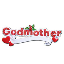 Family Godmother Personalized Christmas Tree Ornament
