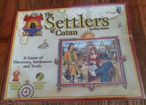 The Settlers of Catan Mayfair Games 483 brand New 2003 edition sealed old stock