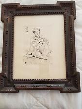 Paul Cezanne Copperplate Etching - Portrait de Peintre A. Guillaumin au Pendu