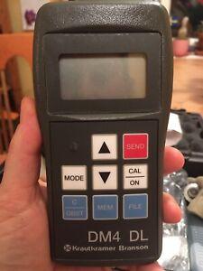 Dickenmessgerät Krautkrämer DM4/DM4DL gebraucht, aus Profihand