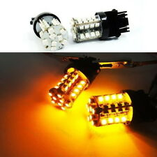 A Pair of Amber 40 SMD LED 3157 3156 3457 For NISSAN Front Turn Signal Light
