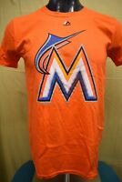 Majestic MLB Mens Miami Marlins Baseball Shirt NWT $26 S, M, L, XL