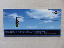 Mini One / Cooper - Mini Feeling - Prospekt Brochure 2001