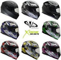 Vega Ultra II Helmet Dri-Tech Liner Full Face Lightweight DOT ECE XS-2XL