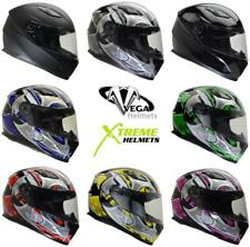 Vega Ultra II Helmet Dri-Tech Liner Full Face Lightweight DOT ECE XS-2XL