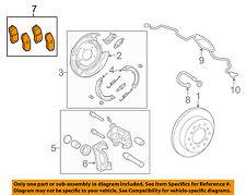 TOYOTA OEM 07-15 Tundra Brake-Rear Pads 044660C010