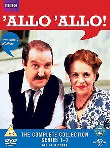 Allo 'Allo Complete collection series seasons 1 - 9 DVD Box Set New