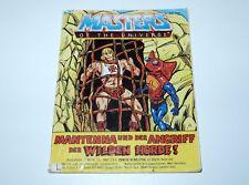 MOTU HE-MAN MASTERS OF THE UNIVERSE MINI COMIC 1984 MANTENNA DE IT MALAYSIA