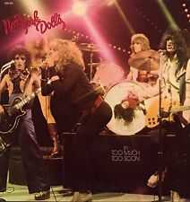 "NEW YORK DOLLS ""TOO MUCH TOO SOON"" ORIG FR 1974 EX"