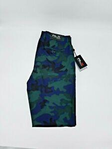 Ralph Lauren RLX FA 18 Men's Golf Pants 32x32 Green/Blue Camo Brand New W/Tags