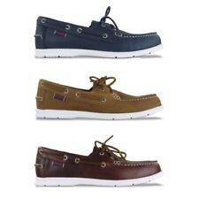 Zapatos informales de hombre en color principal azul de ante