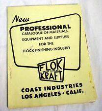 1953 FLOK KRAFT COAST INDUSTRIES PROFESSIONAL Equipment Catalog