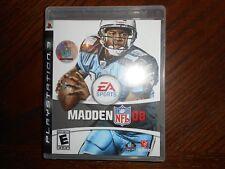 Madden NFL 08 (Sony PlayStation 3, 2007) PS3