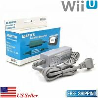 Fosmon AC Power Supply Charging Adapter Cable Cord For Nintendo Wii U Gamepad CH