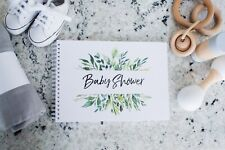 Gender Neutral Baby Shower Guest Book