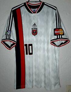 MLS DC United Adidas Prototype 1999 Marco 'Diablo' Etcheverry Soccer Jersey Rare