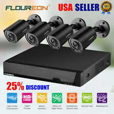 8CH DVR Home Security Camera System 3000TVL 1080P CCTV Invisible IR Night Vision
