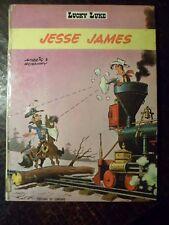 LUCKY LUKE - Jesse James - 35' - EO - LOMBARD - 3e Trimestre 1969 - 8 PHOTOS