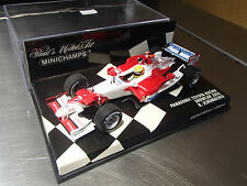 1:43 MINICHAMPS PANASONIC TOYOTA RACING SHOW CAR 2006 R. SCHUMACHER NEW MINT