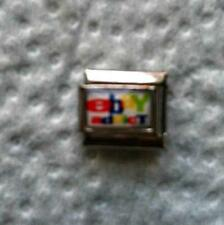 """EBAY ADDICT."" 9MM ITALIAN CHARM-ONLINE SHOPPING, BID, AUCTION"